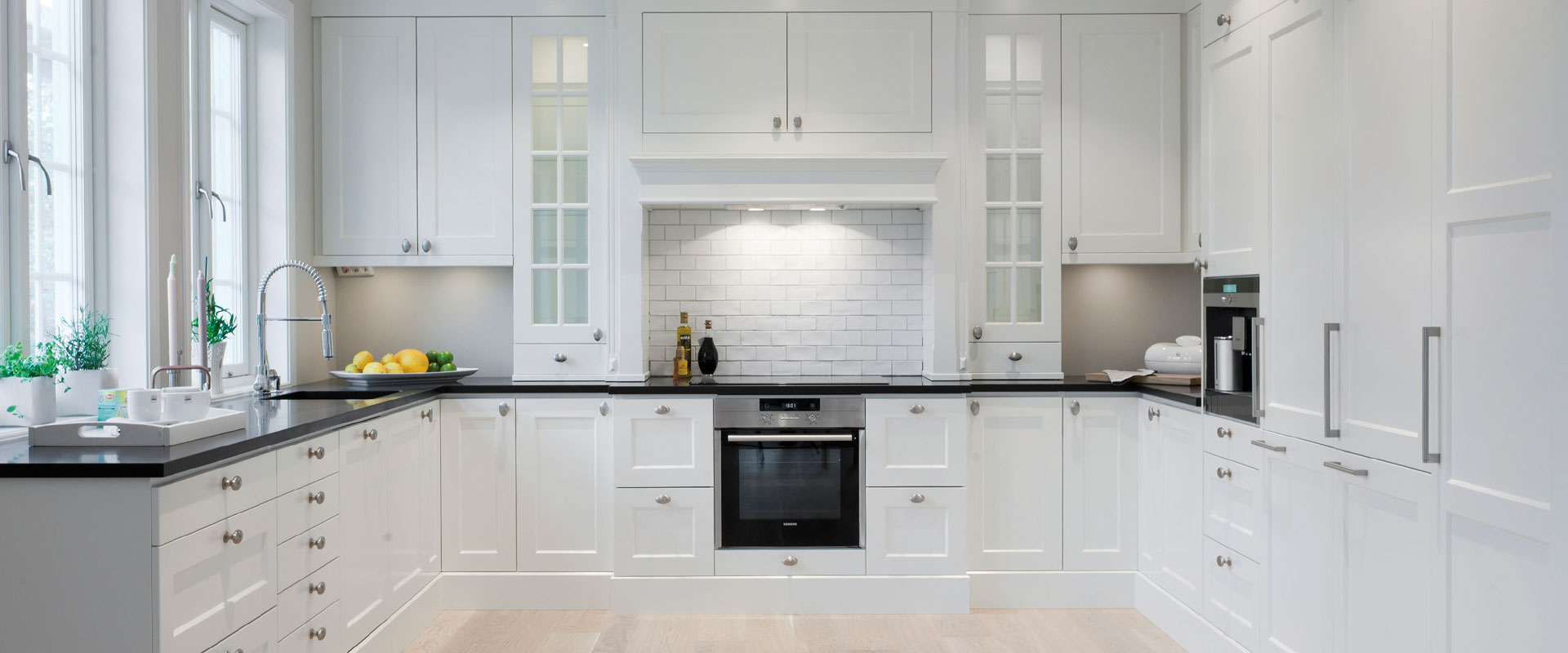 Image Result For White Walls White Kitchen Cabinets